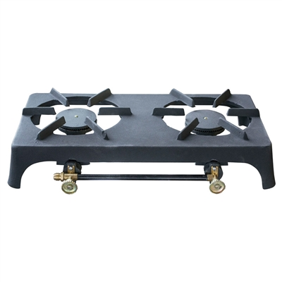 Cast Iron Double Burner