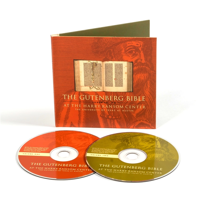 Gutenberg Bible CD-ROM