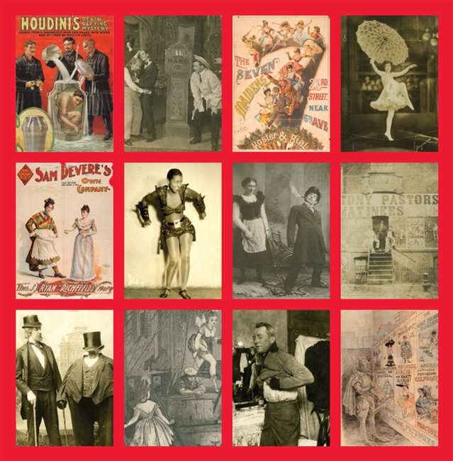 Vaudeville Notecard Set