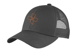 CX Mesh Trucker Cap, charcoal/orange