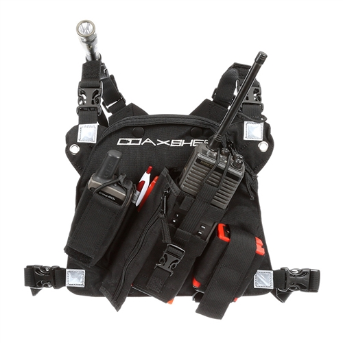 Radio Chest Harness - Coaxsher RCP-1 Pro Radio Chest Harness