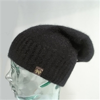 Baggie Beanie - Merino Possum - Noble Wilde