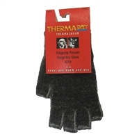 ThermaDry Polypropylene Possum Fingerless Glove by Weft