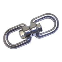 Swivel Eye/Eye - Stainless Steel