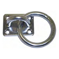 Pad Eye with Ring - Stainless Steel