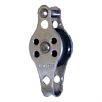 Block Lightweight, Nylon Sheave - Single 25mm