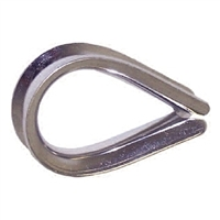 Rope Thimble - Stainless Steel