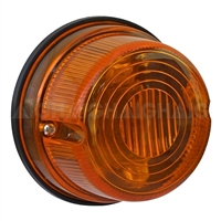 Trailer Light Round - Amber Indicator