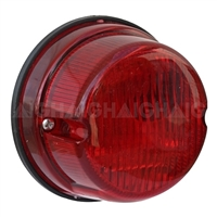 Trailer Light Round - Red Stop/Window