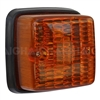 Trailer Light Square - Amber Indicator