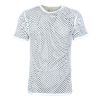 Cotton Air Vest Crew Neck Short Sleeve by Weft