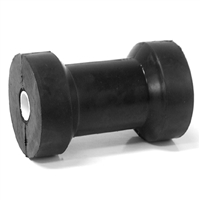 "Cotton Reel Boat Roller 4.5""/110mm Rubber & Nylon Bush"