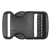 Side Release Strap Buckle 38mm - 1 per pack