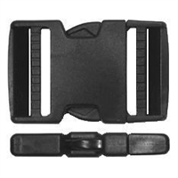 Side Release Double Strap Buckle 50mm - 1 per pack