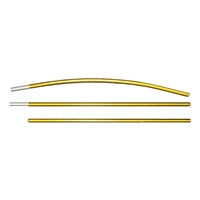 "Tent Pole 18"" - .355"" / 9.0mm Diameter Sections by Easton"