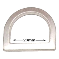 Aluminium D Ring 23mm
