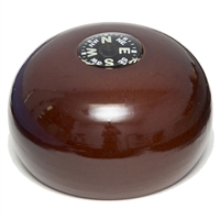 Jacko Replacement Knob for Royal Pole - Inset  Compass