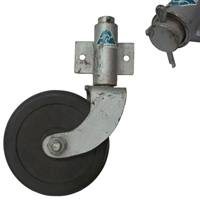 "Jockey Wheel Swivel & Bracket - 150mm (6"")"
