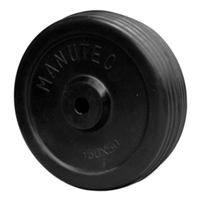 "Wheel Solid Rubber - 150mm (6"")"