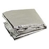 Space Emergency Blanket (142cm x 213cm) Silver/Silver in (Poly Bag)