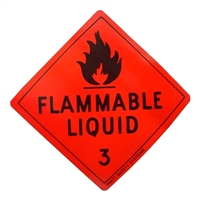 Flammable Liquid 3 - 50mm