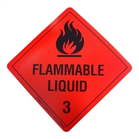 Flammable Liquid 3 - 100mm