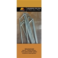 Tent Peg Galvanised - 4mm X 175mm