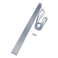 Vango Alloy Pole Set - 8.5mm x 55cm