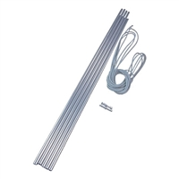Vango Alloy Pole Set - 9.5mm x 55cm