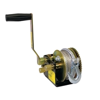 Jarrett Winch 3 Speed: 10:1 / 5:1 / 1:1 (800kg) Fibre Rope