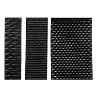 Heavy Duty Polyester Webbing - Black