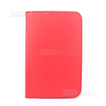 "Galaxy Note 8.0"" N5100 Wallet Case Red"