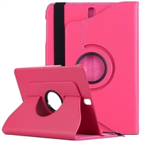 "Galaxy Tab 4 8.0"" T330 360 Degree Wallet Case Rose"