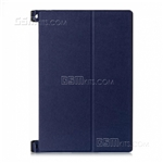 Lenovo Yoga Tablet 2 10.1 Wallet Case Ultra Thin Blue