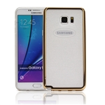 Galaxy Note 5 N920 Gel Case Glitter Gold