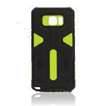 Galaxy Note 5 N920 Hard Case 2-in-1 Plastic + TPU Hybrid Phone Cover Green