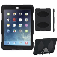 iPad 2/3/4 Hard Case Survivor Black (with Packaging)