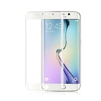 Galaxy S6 Edge G925F Tempered Glass White