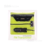 iPhone 4/4S FM Transmitter Black