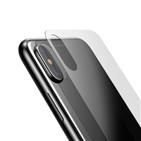 iPhone X Back Cover Tempered Glass
