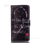Galaxy A3 (2016) A310F Wallet Case Design My Dear Boy Red Lips