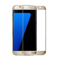 Galaxy S7 G930F Tempered Glass 3D Gold