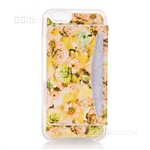 iPhone 7 Hard Case Design Wallet Shell With Kickstand Yellow Flower, iPhone 7 wholesale cases, cheapest gel case, Cheapest warehouse wholesale in Ireland, one place for everything, cases on offers, bundle offers, get all in one, 3 in 1, cheapest wallet
