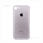 iPhone 8/7 Hard Case Design Apple Logo Silver