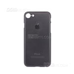 iPhone 8/7 Plus Hard Case Design Apple Logo Black