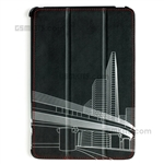 UPP iPad Mini 1/2/3 Pouch Stand Architecture Folder Case