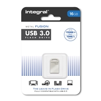 Integral Metal Fusion USB 3.0 Flash Drive 16GB