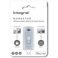 Integral  Morestore iPhone-iPad 64GB USB 3.0 Flash Drive