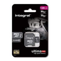 Integral Ultimate Pro (Class 10) Micro SD Card 128GB