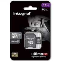 Integral Ultima Pro (Class 10) Micro SD Card 32GB